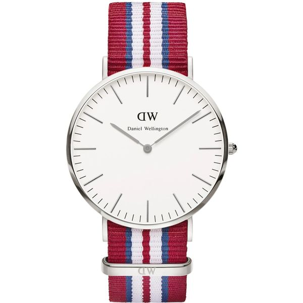 Daniel Wellington 0212DW Classic Exeter Man Silver 40mm