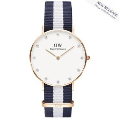 Daniel Wellington 0953DW Classy Glasgow Rose Gold 34mm