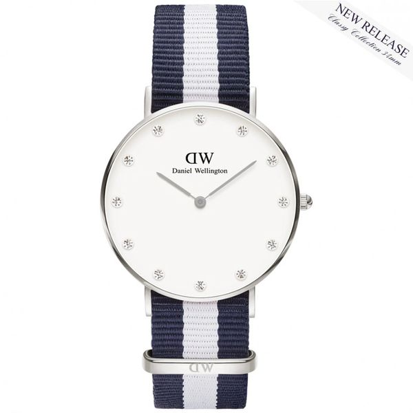 Daniel Wellington 0963DW Classy Glasgow Silver Gold 34mm