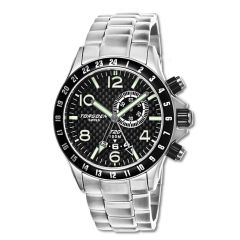 Torgoen T20305 GMT/Dual time, Alarm, Big date window