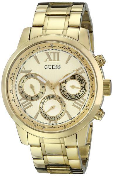 GUESS Women's U0330L1 Gold-Tone Multi-Function Watch