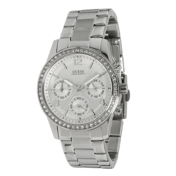 Guess Women's U13593L1 Chronograph Stainless Steel Bracelet Watch