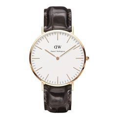 Daniel Wellington 0111DW Classic York Man Rose Gold 40mm