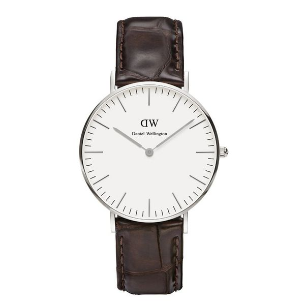 Daniel Wellington 0610DW Classic York Lady Silver 36mm