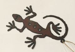 Rusty Lizard Ornament