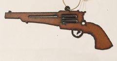Rusty Pistol Ornament