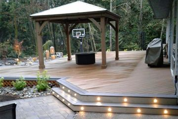 decking,cabanna,patio cover,roofing,lighting,landscape contractor