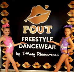 Pout Leotard (Pink) OR (Lilac)