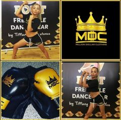 MDC CROP T SHIRT AND SHORTS