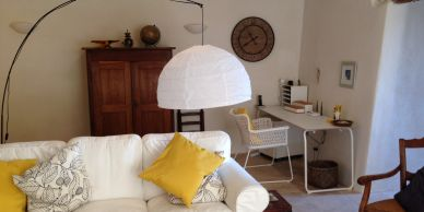 Villa Rental Provence sitting room