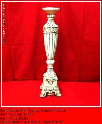Fancy Candle Holder - #1514T