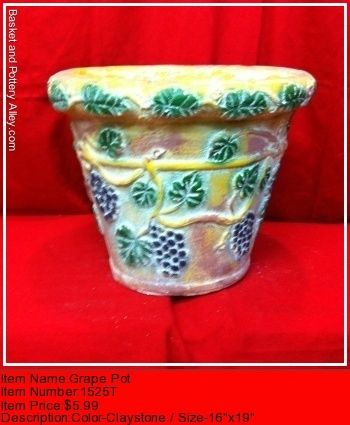 Grape Pot - #1525T