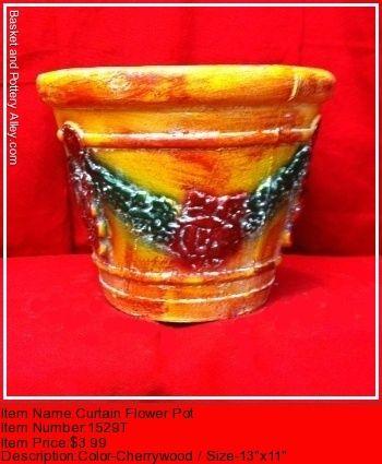 Curtain Flower Pot - #1529T