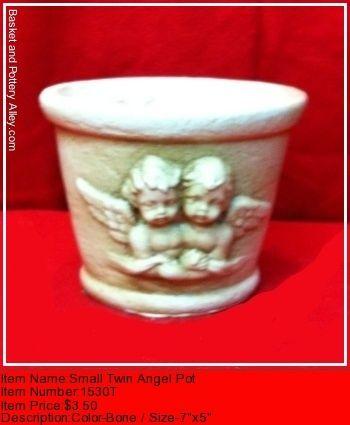 Small Twinf Angel Pot - #1530T