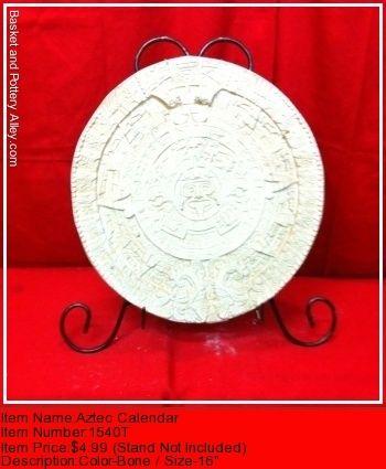 Aztec Calendar - #1540T