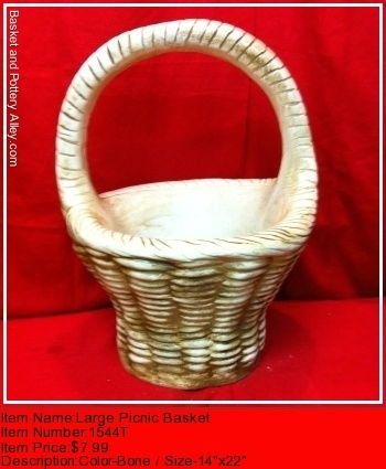 Large PicNic Basket - #1544T
