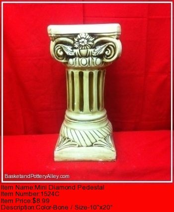 Mini Diamond Pedestal - #1524C