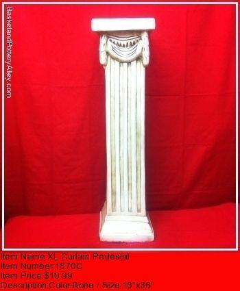 XL Curtain Pedestal