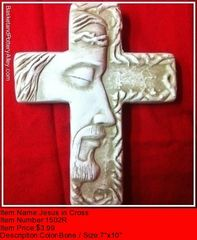 Jesus in Cross - #1502R