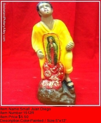 Small Juan Diego - #1512R