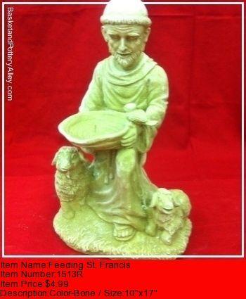 Feeding St Francis - #1513R