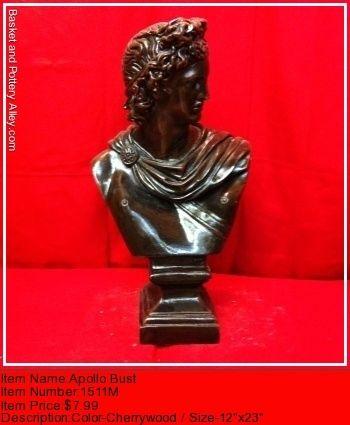 Apollo Bust - #1511M
