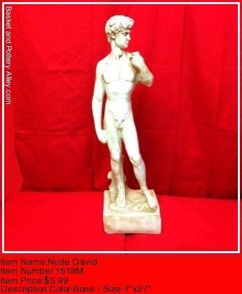 Nude David - #1518M