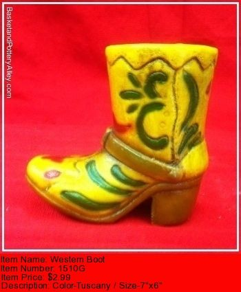 Western Boot - #1510G