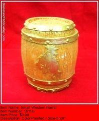 Small Western Barrel - #1511G
