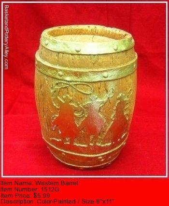 Western Barrel - #1512G