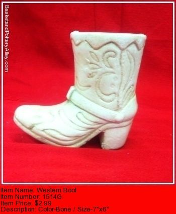Western Boot - #1514G