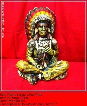 Lareg Chief Pipe - #1541G