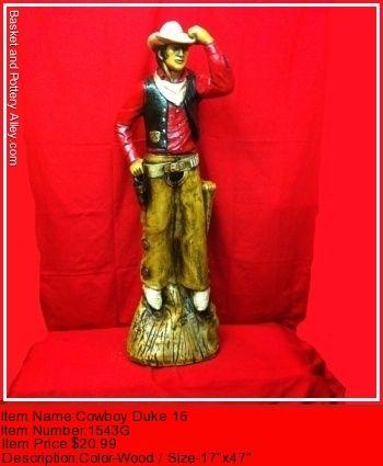 Cowboy Duke 16 - #1543G