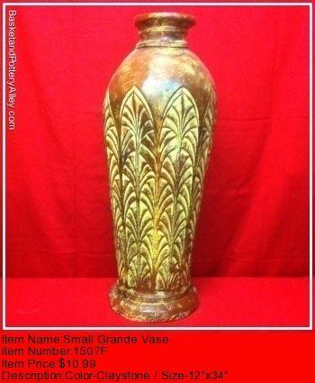 Small Grande Vase - #1507F