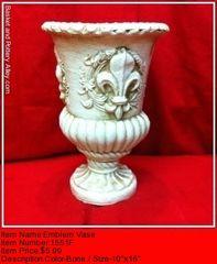 Emblem Vase - #1551F