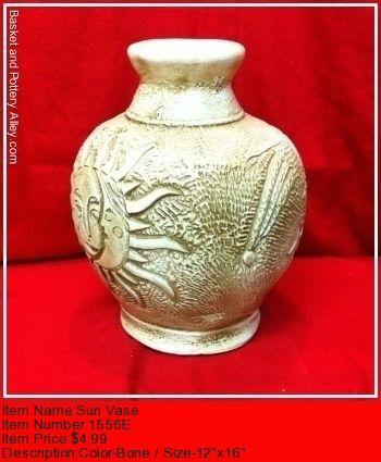 Sun Vase - #1556E