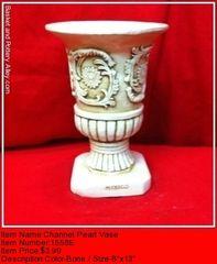 Channel Pearl Vase - #1558E
