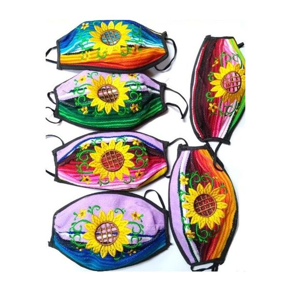 SUN FLOWER MASKS