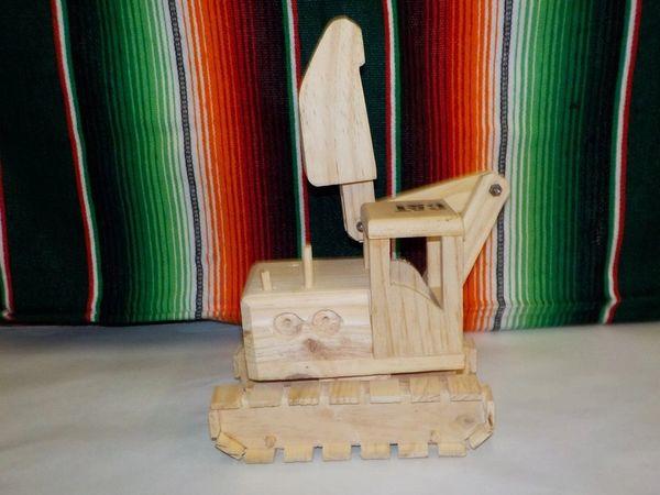 Wooden Tractor - #5009