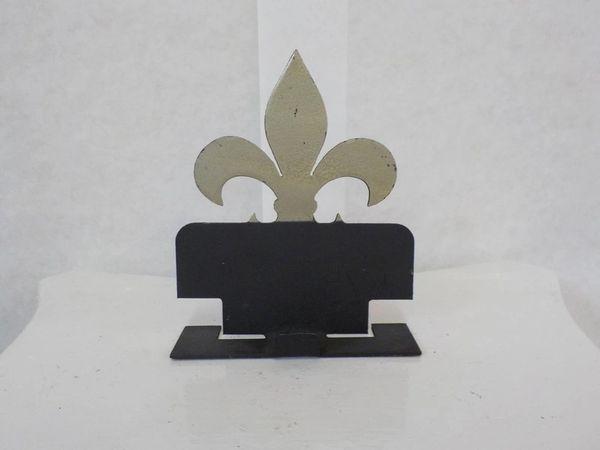 """Business Card Holder """"flor de liz"""" - #65010"""