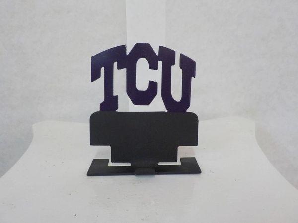 "Business Card Holder ""TCU"" - #65010"