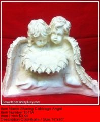 Sharing Cabbage Angel - #1511A