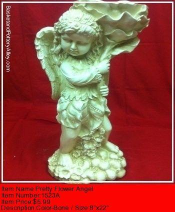 Pretty Flower Angel - #1523A
