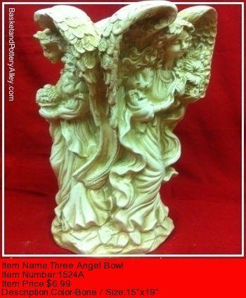 Three Angel Bowl - #1524A