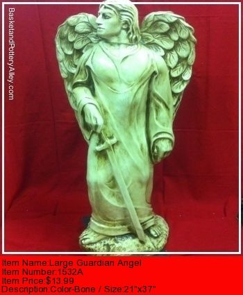 Large Guardian Angel - #1532A
