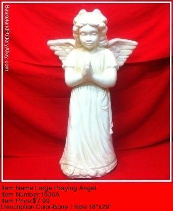 Large Prayinh Angel - #1536A