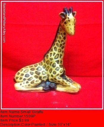 Small Giraffe - #1509P