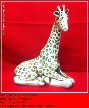 Small Giraffe - #1509Q