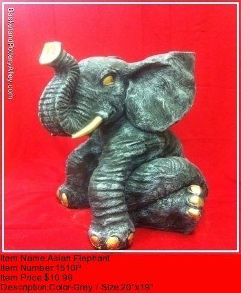 Asian Elephant - #1510P