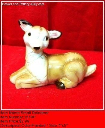 Small Reindeer - #1519P